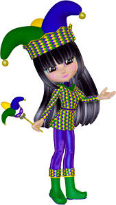 jester mardi gras poser jester jester clipart for mardi gras or other