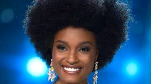 jamaican hairstyles black afro queen miss jamaica s natural hair celebrated