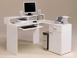 Modern Home Computer Desk Office White Desk With File Cabinet Corner Home Computer Desks