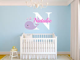 Personalized Wall Decals For Nursery Baby Name Wall Decals Unique Customized Name Wall Decals Products