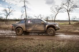 Ford Raptor Truck Tent - texas raptor runs getting muddy at raptorx