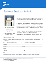 business event invitation templates free business template