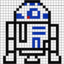 pixel r2d2 brik case pixel art gallery
