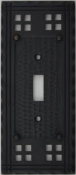 oil rubbed bronze light switch arts crafts mission style oil rubbed bronze one gang switch plate