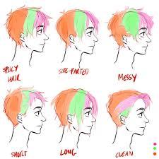 anime hairstyles tutorial hair tutorial please 3 draw hair viria and drawings