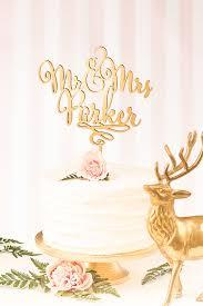 wedding wishes adventure gold mr mrs cake topper custom cake topper for wedding cake