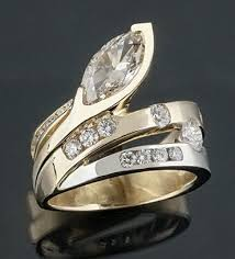 Custom Wedding Rings by Custom Diamond Engagement Ring Rockford Il
