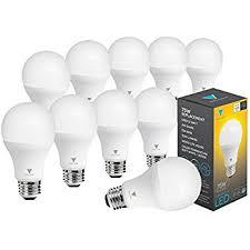 triangle bulbs pack of 10 led dimmable 12 watt a19 led bulb