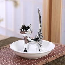 ceramic cat ring holder images New arrivals home d cor jpg