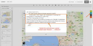 Google Map Directions Driving Custom Page Editing Tool Box U2014 Pixpa Help