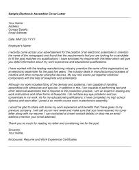 cover letter for technician tech cover letter cover letter for