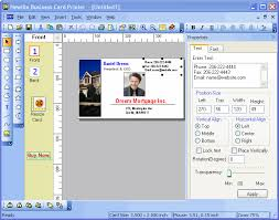 Business Card Creator Software Free Download Free Business Card Design Software The Best Contact Management