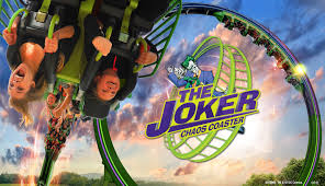 Six Flags Georgia Water Park Sf Over Georgia 2015 The Joker And Harley Quinn Spinsanity