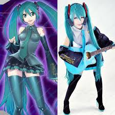 cheap vocaloid hatsune miku 7 anime costumes sale at