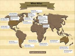 Champagne France Map by Wine Atlas Around The World In 18 Bottles