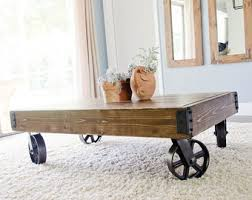 Industrial Cart Coffee Table Cool Distressed Coffee Table Ideas U2013 Distressed Coffee Table With
