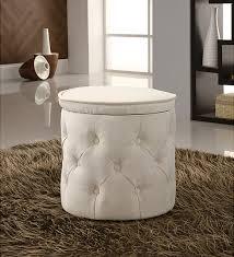 fabric pouf round ottoman u2013 top modern interior design trends and