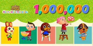 animal crossing happy home designer has sold 1 million copies in