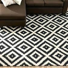 White And Black Area Rug Checkered Rug Black And White Black And White Checkered Area Rug