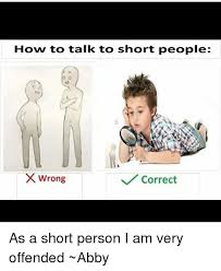 Short Person Meme - how to talk to short people wrong correct as a short person i am