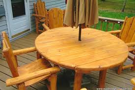 Log Outdoor Furniture by Cedar Outdoor Log Furniture Tables Chairs More
