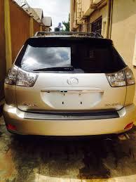 price of lexus rx 350 nairaland very clean tokunbo 2007 lexus rx350 autos nigeria