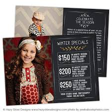 christmas promo card u2013 photoshop templates for photographers