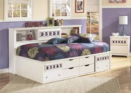 White Daybed With Storage White Daybed Zayley Collection By Furniture