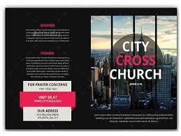 free church brochure templates for microsoft word free tri fold brochure template template business