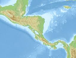 Map De Central America by 1917 Guatemala Earthquake Wikipedia