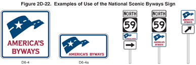 americas byways figure 2d 22 long description mutcd 2009 edition fhwa