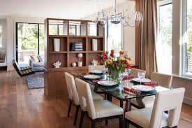 Diy Room Divider Dining Room Contemporary With Glass Lampshade - Glass top dining table decoration