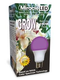 miracle led bug light review miracle led red and blue grow light bulb gardener s supply