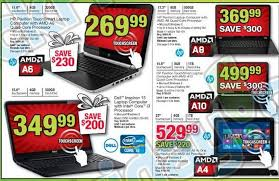 black friday deals for laptops office depot black friday 2013 ad leaks laptop desktop tablet