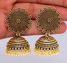jojo earrings jojo fashion jewelry women earring indian style gold jhumka earrings