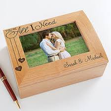 personalized boxes personalized photo box you re all i need