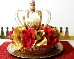 Royal Crown Centerpieces by Red And Gold Baby Shower Candy Buffet Table Centerpiece Boys