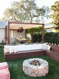 Beautiful Gardens Ideas Pit Ideas Deck Seating Decking And Backyard