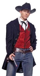 Cowboy Halloween Costume Cowboy Halloween Costume Mens Murder Deadwood Saloon