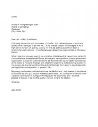 cover letter template for high students 28 images