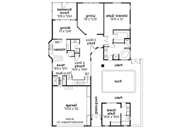 first floor in spanish mediterranean house plans coronado 11 029 associated designs