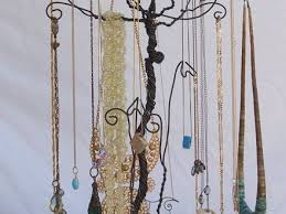 necklace holder stand images 58 diy earring tree wire tree stand jewelry display holder set jpg