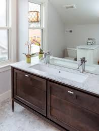 Guest Bathroom Vanity by Flipping Houses Home Renovation In Silicon Valley