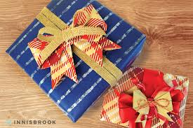 Origami Gift Wrapping Wrap Up For Fall With Origami Bow Gift Toppers Diy Innisbrook Wraps