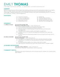 accounts payable receivable resume objective best clerk example