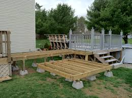 framework for the tub and deck access repair and refinishing
