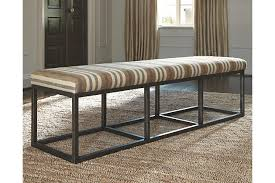 Strumfeld Dining Room Bench Ashley Furniture HomeStore - Ashley furniture dining table bench