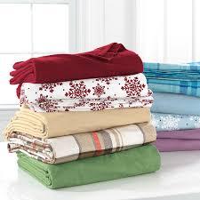 brylanehome studio cotton print flannel sheet set bedding