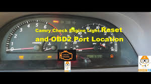 How To Reset 2001 2002 2003 2004 2005 2006 Toyota Camry Check