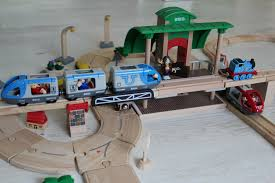Plans For Wooden Toy Trains by Brio And Plan City Toy Passenger Trains Cargo Train And Bus